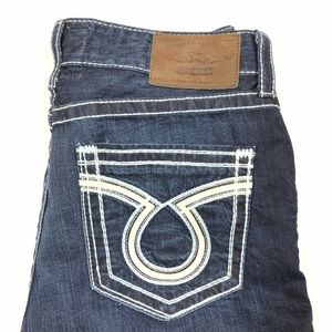 Big Star Pioneer Bootcut Jeans Mens 36R Dark Wash